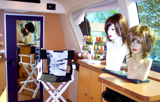 Inside LeMetric's Mobile Beauty Studio