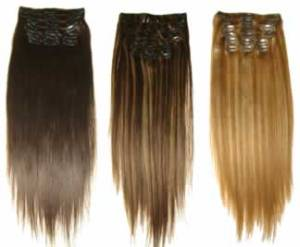 Clip-In Hair Extensions, hair extensions, clip in hair extensions