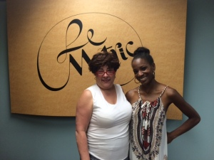 Elline (CEO/Founder of LeMetric) with Bianca of Be You Beauty
